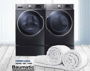 博曼帝克 baumatic 洗衣机 干衣机