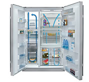 sub-zero冰箱 双压缩机系统