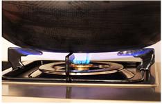 baumatic燃气灶 强大的炒锅燃烧器