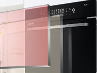 baumatic烤箱 钢化玻璃门