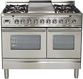 ilve pro系列 40英寸烤箱灶